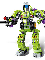cheap -Building Blocks Puzzle Robot 1 pcs Robot compatible Legoing Focus Toy New Design Hand-made All Toy Gift