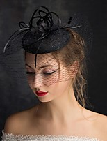 cheap -Artificial feather Fascinators with Feather 1 Piece Tea Party / Horse Race Headpiece
