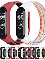 cheap -Nylon strap replacement for xiaomi mi band 3 4 bracelet NFC smart Watch xiaomi mi band 3 colorful strap anti-lost wristband
