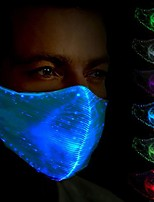 cheap -5pcs Antibacterial and Respirator/Environmentally Friendly  Washable and Reusable  / Colorful Change / USB Charging  LED Smart Night Light  Household Masks