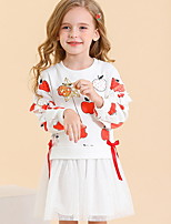 cheap -Toddler Girls' Fruit Dress White