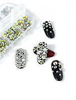 cheap -1 pcs Mini Style / Multi-Type Crystal / Rhinestone Nail Jewelry Rhinestones For Finger Nail Beauty Shop 3D nail art Manicure Pedicure Daily Artistic / Fashion