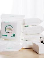 cheap -Disposable Face Towel 100% Luxury Facial Cotton Tissue Soft Towel Non-woven Fabric Disposable Facial Cotton Tissue Makeup Facial Soft Pads 25cts