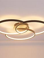 cheap -feimiao 3-Light 72 cm Circle Design Flush Mount Lights Aluminum Silica gel Painted Finishes LED / Modern 110-120V / 220-240V