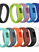 cheap -Watch Band for Vivofit 3 / Garmin vívofit jr / Garmin Vivofit JR2 Garmin Sport Band Silicone Wrist Strap