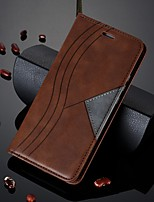 cheap -Case For Huawei Honor 10 Lite / Honor 8A / Honor 20i Wallet / Card Holder / Shockproof Full Body Cases Geometric Pattern PU Leather Case For Huawei Y6 Pro (2019) / Y7 Pro (2019) / Y7 Prime (2019)