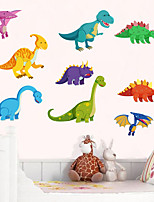 cheap -Dinosaur Wall Stickers Children Room Home Decor Dinosaur Vinyl Kids Room Decal Baby Nursery Decor