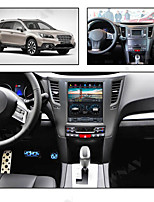 cheap -ZWNAV 10.4inch 1din PX6 4GB 64GB Tesla style Android 8.1 Car GPS Navigation Car multimedia player Car MP5 Player tape recorder For Subaru Legacy 2009-2014