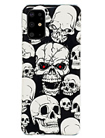 cheap -Case For Samsung Galaxy S20 / S20 Ultra / Galaxy S20 Plus Pattern Back Cover Skull TPU for Galaxy A10 A20 A30 A40 A50 A60 A70 A80 A90 M10 M20 NOTE9 NOTE10 NOTE10 PRO