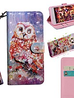 cheap -Case For Samsung Galaxy S9 / S9 Plus / S8 Plus Wallet / Card Holder / with Stand Full Body Cases Animal PU Leather / TPU For Galaxy S20/S20 Plus/S20 Ultra/S10E/S10 Plus/S7 Edge/S10 5G