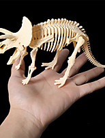 cheap -3D Puzzle Dinosaur Fossil Dinosaur Figure Dinosaur Animals Cute Exquisite Plastic Kid's Child's All Toy Gift
