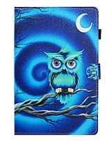 cheap -Case For Huawei Huawei Mediapad T5 10 Card Holder / with Stand / Flip Full Body Cases Animal PU Leather