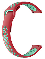 cheap -Watch Band for Ticwatch 2 / Ticwatch E TicWatch Modern Buckle Silicone Wrist Strap