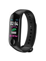 cheap -M3 Unisex Smart Wristbands Android iOS Bluetooth Waterproof Heart Rate Monitor Blood Pressure Measurement Sports Long Standby ECG+PPG Pedometer Sleep Tracker Sedentary Reminder Exercise Reminder