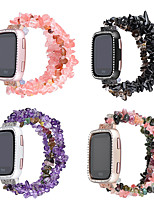 cheap -Watch Band for Fitbit Versa fitbit versa 2 Jewelry Design Ceramic Wrist Strap