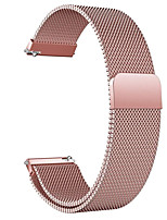 cheap -Watch Band for Huawei Watch GT / Huawei Watch 2 Pro / Honor Magic Huawei Milanese Loop Stainless Steel Wrist Strap