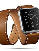 cheap -Watch Band for Apple Watch Series 5/4/3/2/1 Apple Classic Buckle / Leather Loop / Business Band Genuine Leather Wrist Strap