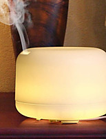 cheap -1pcs 500ml Remote Control Essential Oil Aroma Diffuser Ultrasonic Electric Aromatherapy Air Humidifier With 7 Color LED Lights For Home