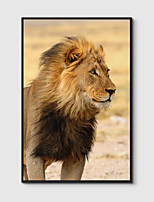 cheap -Framed Art Print Framed Canvas Prints - Animals PS Photo Wall Art