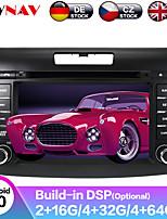 cheap -ZWNAV 7 inch 2 DIN Android 9.0 In-Dash Car DVD Player / Car MP5 Player / Car GPS Navigator Touch Screen / GPS / Steering Wheel Control for Honda RCA / Mini USB / MicroUSB Support MPEG / AVI / MPG MP3