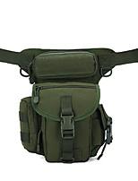 cheap -10 L Hiking Backpack Hiking Sling Backpack Hiking Waist Bag Lightweight Rain Waterproof Wearable Outdoor Hiking Climbing Jogging Oxford Cloth Army Green Camouflage Dark Gray