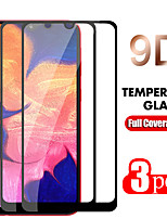 cheap -2PC/3PC 9D Curved Edge Full Cove For Samsung Galaxy A50 A40 A30 A70 A10 Tempered Glass Screen Protector