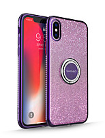 cheap -Case For Apple iPhone 11 / iPhone 11 Pro / iPhone 11 Pro Max Glitter Shine Back Cover Solid Colored TPU