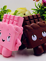 cheap -1 Squeeze Toy / Sensory Toy Slow Rising Stress Reliever Chocolate Stress and Anxiety Relief Relieves ADD, ADHD, Anxiety, Autism Decompression Toys Resin 5 pcs Adults' All Toy Gift