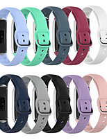 cheap -Watch Band for Samsung Galaxy Fit SM-R370 Samsung Galaxy Modern Buckle Silicone Wrist Strap