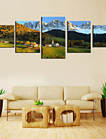 cheap -5 Panels Modern Canvas Prints Painting Home Decor Artwork Pictures DecorPrint Rolled Stretched Modern Art Prints Nature Abstract