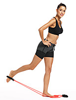 cheap -Exercise Resistance Bands Sports Stretch Stripes Waterproof Fabric Yoga Exercise & Fitness Strength Training Physical Therapists Muscle Building For Men Women