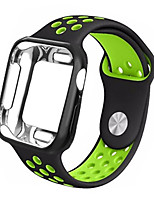 cheap -Watch Band for Apple Watch Series 5/4/3/2/1 Apple Sport Band / Modern Buckle PC / Silicone Wrist Strap