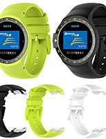 cheap -Watch Band for Ticwatch S TicWatch Sport Band Silicone Wrist Strap