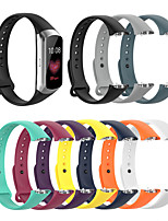 cheap -Watch Band for galaxy fit SM-R370 Samsung Galaxy Modern Buckle Silicone Wrist Strap