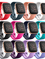 cheap -Watch Band for Fitbi Versa Lite / Fitbit  Versa 2 Fitbit Modern Buckle Silicone Wrist Strap