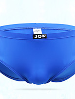 cheap -Men's Basic Briefs Underwear - Normal Low Waist Black Light Blue Yellow M L XL