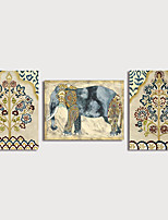 cheap -Print Canvas Painting Modern Art Prints set of 3 with Stretcher