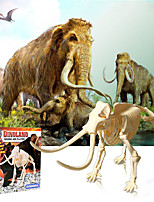 cheap -3D Puzzle Dinosaur Fossil Jurassic Dinosaur Elephant Animals Adorable Parent-Child Interaction Plastic Kid's Child's All Toy Gift