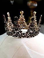 cheap -Women's Tiaras For Wedding Party Evening Prom Festival Artisan Alloy Bronze 1pc