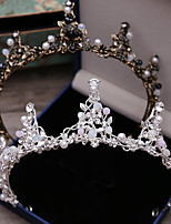 cheap -Women's Tiaras For Wedding Party Evening Prom Festival Art Deco Alloy Silver Bronze 1pc