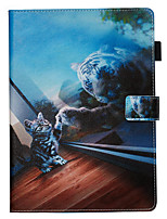 cheap -Case&Stylus pen For Apple iPad Pro 10.5 / Ipad air3 10.5' 2019 Dustproof / with Stand / Flip Back Cover Cat PU Leather