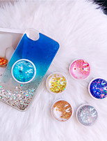 cheap -4 Colors Universal Cell Phone Bracket Houder Glitter Quicksand Expanding Grip Ring Holder For iPhone 11 Pro Max X XS MAX XR 8 7 6 6s Plus
