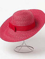 cheap -Straw Straw Hats with Rattan 1 Piece Casual / Outdoor Headpiece