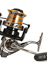 cheap -Fishing Reel Spinning Reel 4.01 Gear Ratio+13 Ball Bearings Hand Orientation Exchangable Sea Fishing