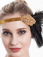 cheap -Dance Accessories 1920s / The Great Gatsby Women's Feather / Fur Feather Vintage / Costume & Disguise