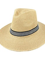 cheap -Straw Hats with Rattan 1 Piece Casual / Outdoor Headpiece