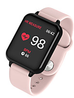 cheap -B57 Unisex Smart Wristbands Android iOS Bluetooth Waterproof Touch Screen Heart Rate Monitor Blood Pressure Measurement Long Standby ECG+PPG Pedometer Activity Tracker Sleep Tracker Sedentary Reminder