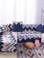 cheap -Boho Wave Print Dustproof All-powerful Slipcovers Stretch L Shape Sofa Cover Super Soft Fabric Couch Cover with One Free Pillow Case