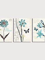 cheap -Print Canvas Painting Still Life and Flower in Vase Modern Art Prints set of 3 with Stretcher For Home Decoration
