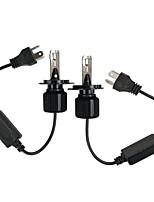 cheap -OTOLAMPARA 2pcs H4 / PK43T Car Light Bulbs 75 W CSP1919 6000 lm 4 LED Headlamps For Honda HRV / Vezel 2018 / 2005 / 2006